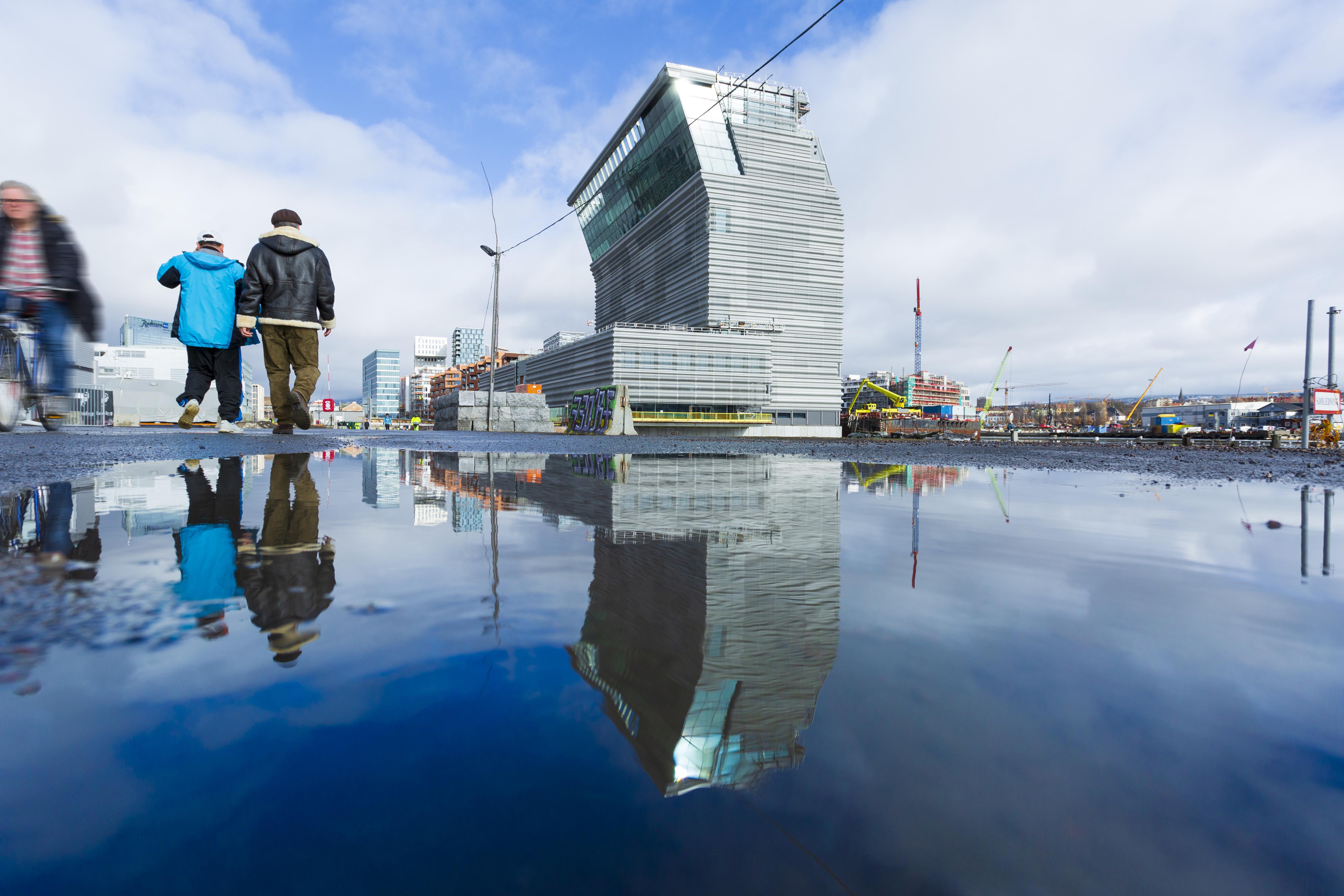 The Munch Museum in Oslo. Photo: VisitOSLO/Didrick Stenersen
