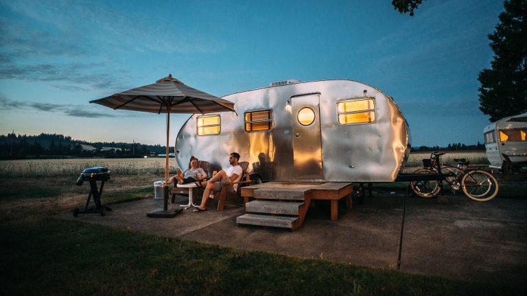Campingferie i naturen