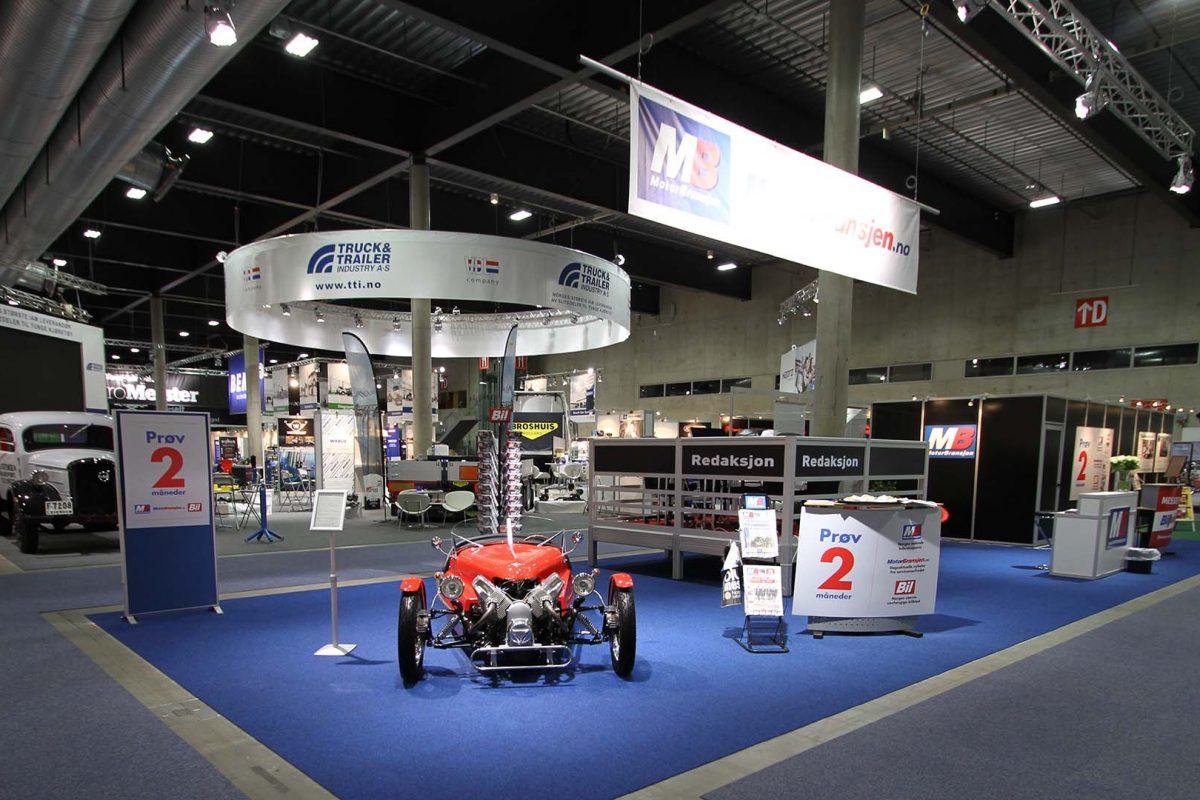 Motorbransjen er mediepartner til Automessen 2018.