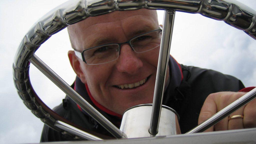 Jan Erik Larssen er bak rattet på elevdagen og mekanikerkvelden til Automessen 2018.