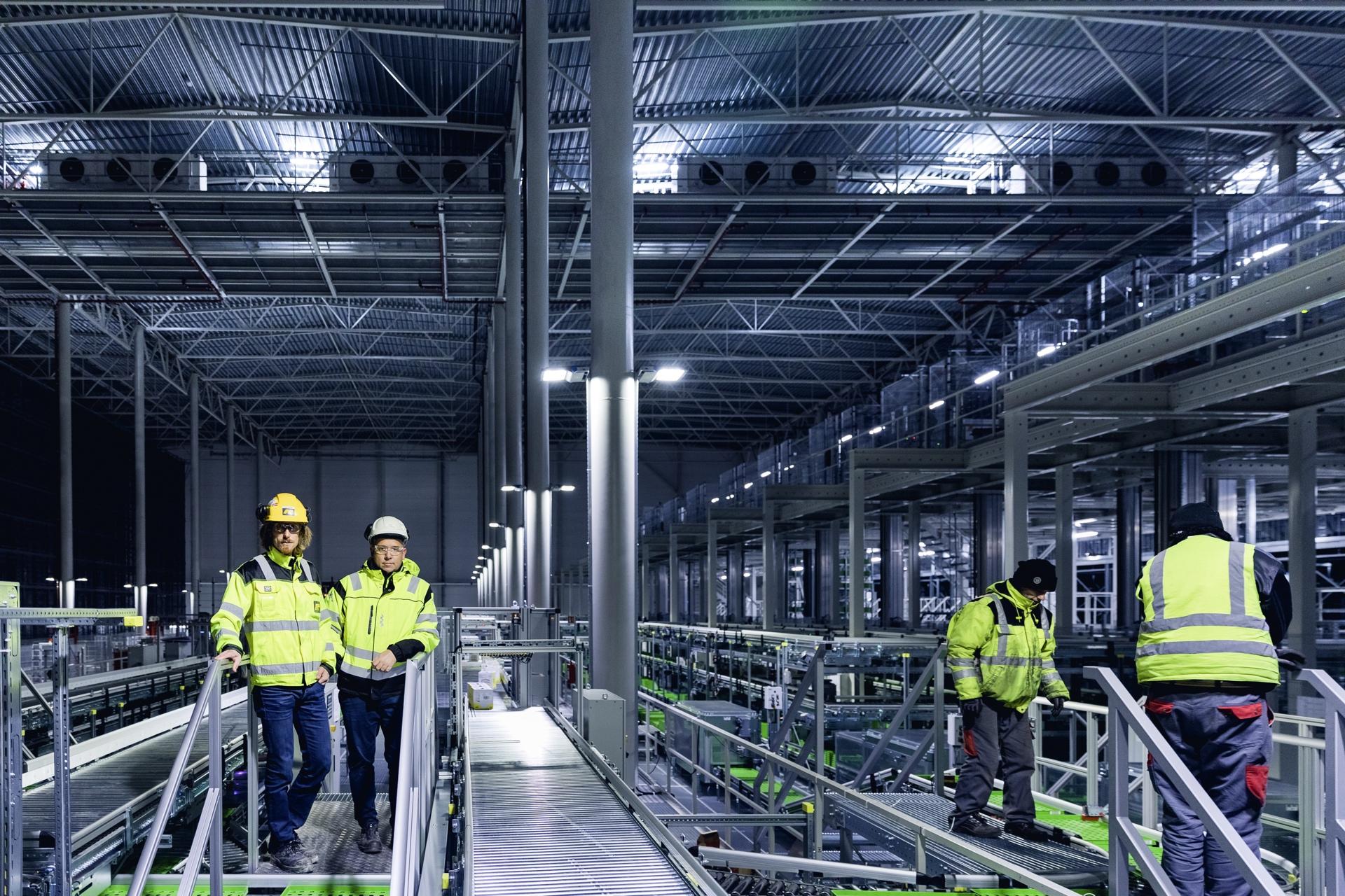 AF-gruppen har bygd nytt kjølelager for ASKO. Foto: KRISTER SØRBØ
