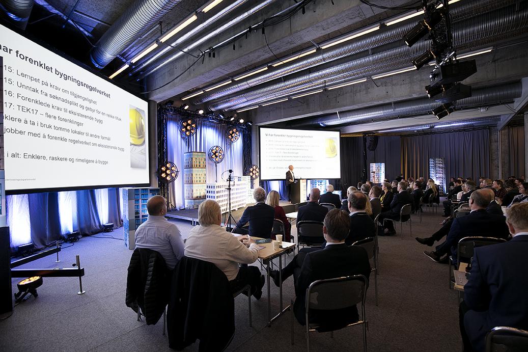 Det norske byggemøte 2017 på Bygg Reis Deg messen