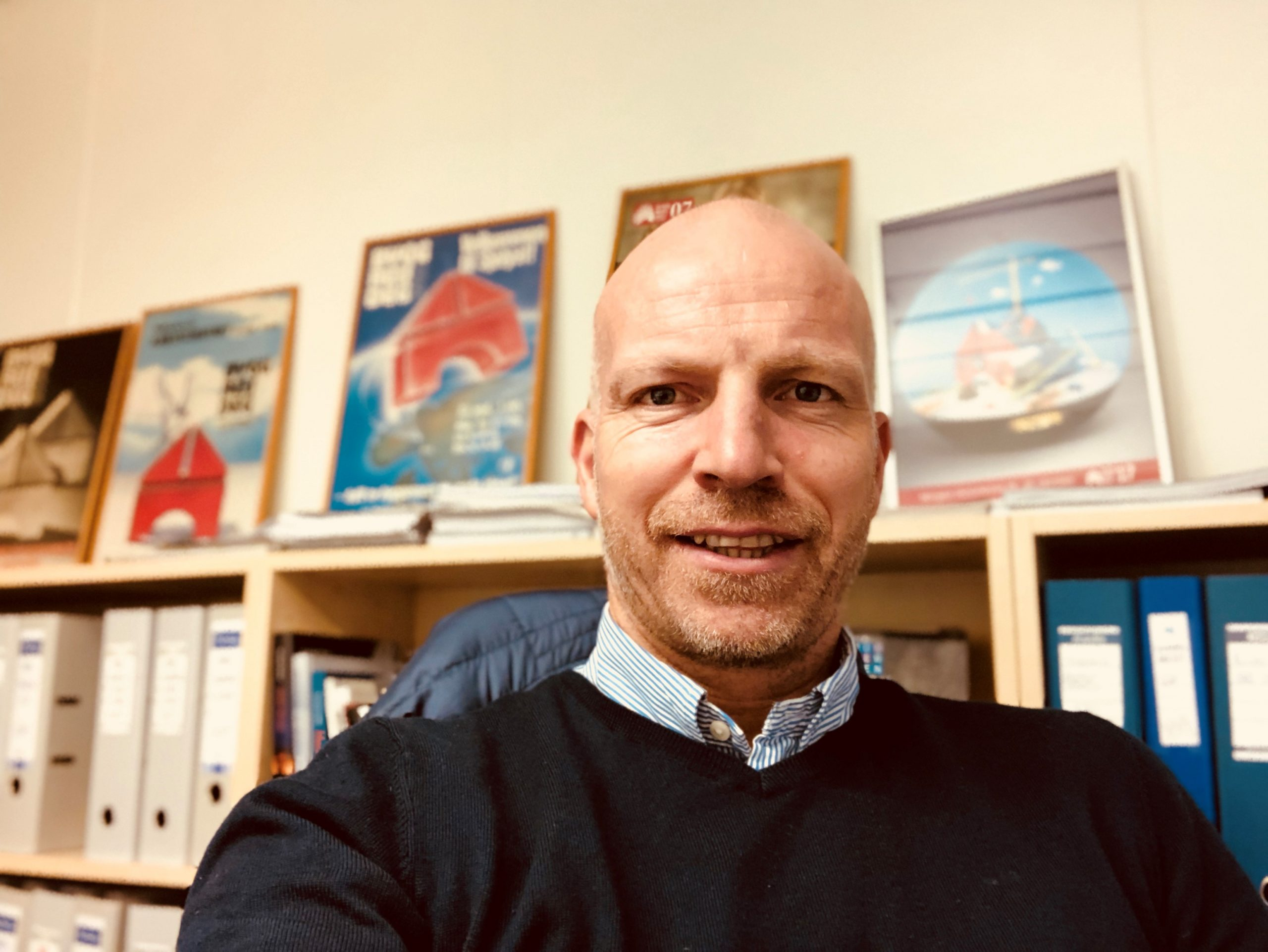 Gunnar Glavin Nybø er administrerende direktør i Bygg Reis Deg AS