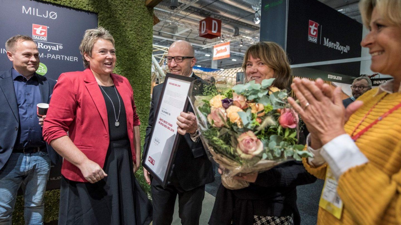 Talgø vant prisen for beste stand