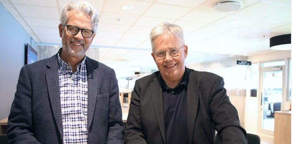 Jon Sandnes til venstre og Jon Karlsen til høyre. Foto: BNL