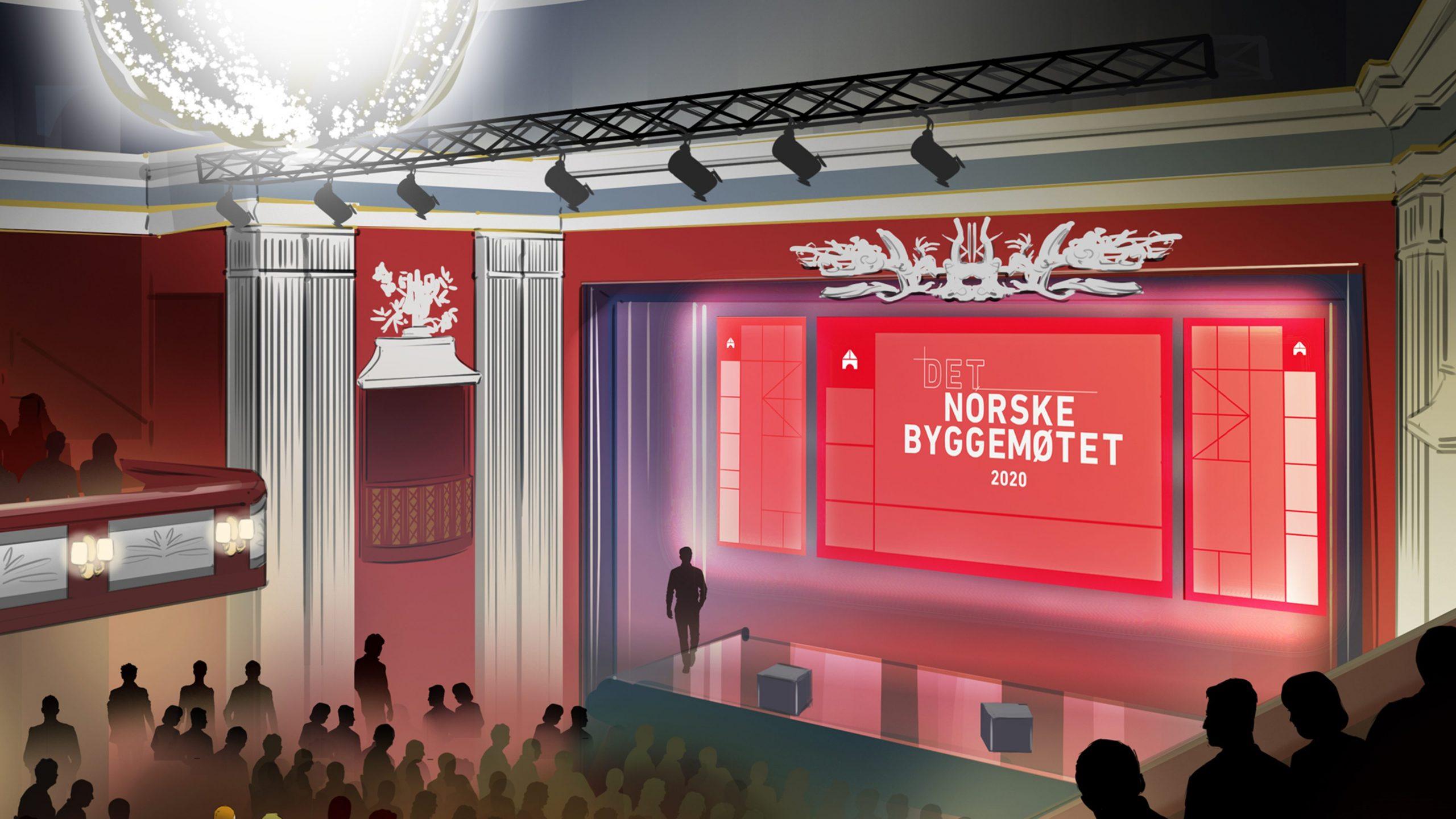 Det Norske Byggemøtet scenen