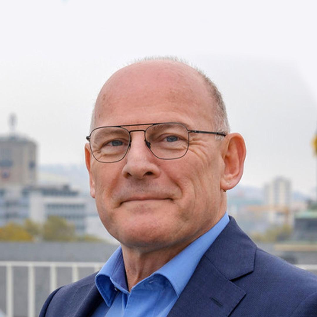 Portrait of Winfried Herman